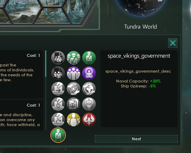Our new governments are lacking title and description